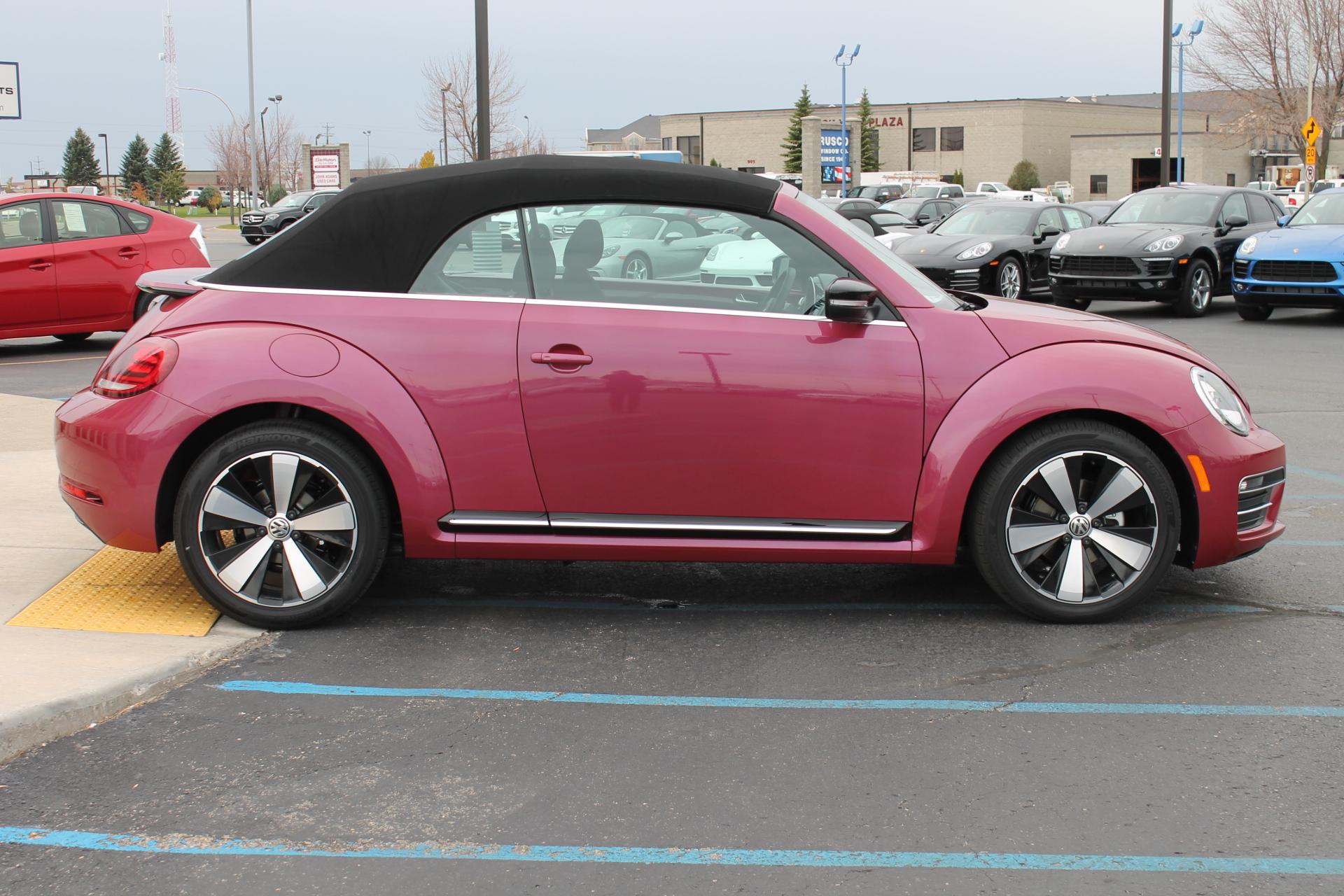 New 2017 Volkswagen Beetle Pinkbeetle Convertible In Fargo The Import Giant